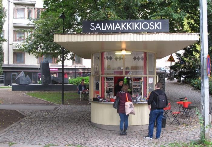 Helsinki, Salmiak-Kiosk