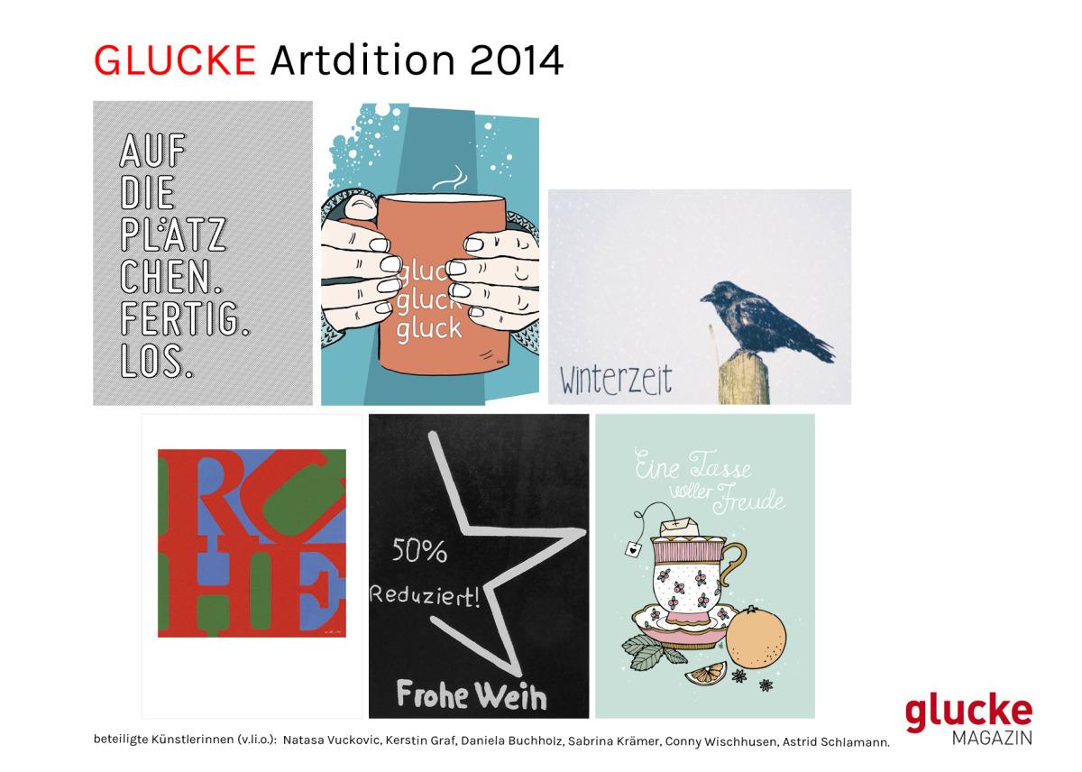 Kartenset ARTdition Glucke 02